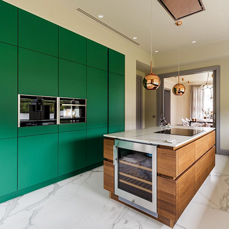 Custom Kitchen Cabinet Colors Images 15