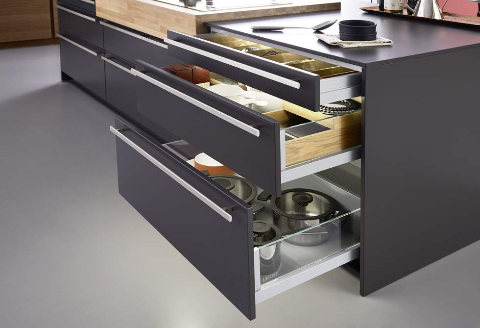 Modern Kitchen Drawers