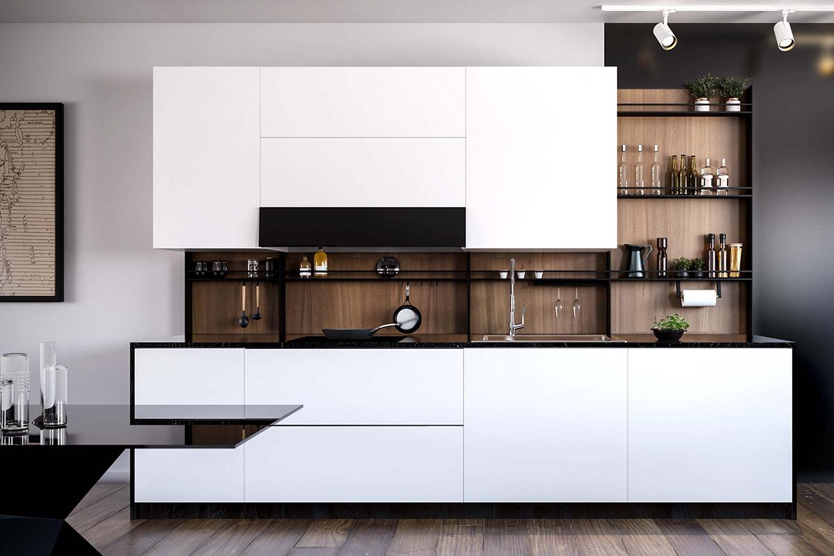 Modern Kitchen Backsplash in NYC