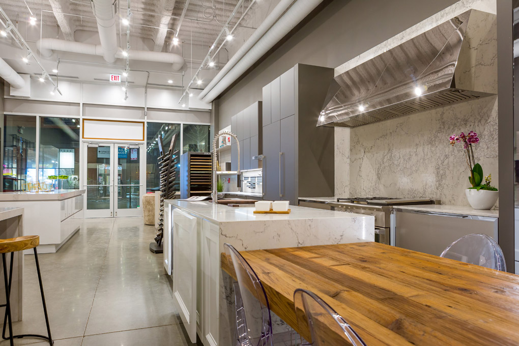 modern kitchens showroom chicago