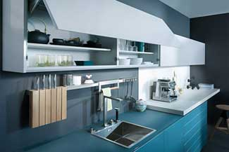 glass kitchen cabinets in miami, fl