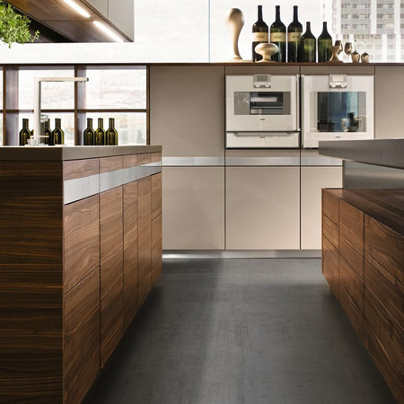 Handleless Kitchen Cabinets In Los Angeles County, CA