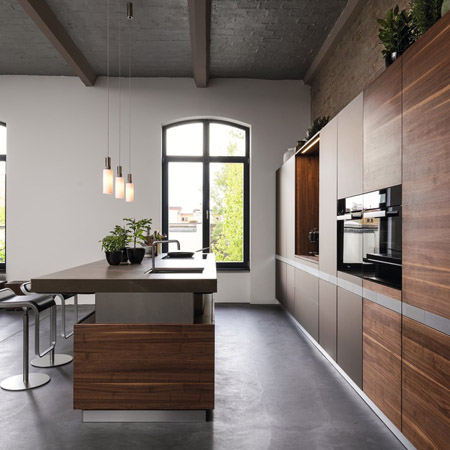 Handle-less Kitchens