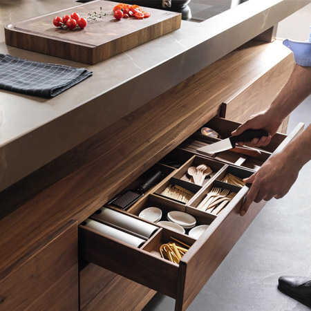 & Handleless Kitchen Cabinets Los Angeles County CA kurilladesign.com