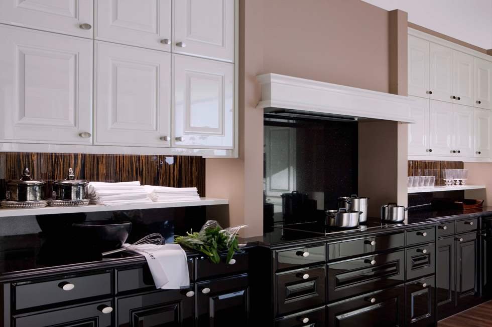 Black Kitchen Cabinets Soho Manhattan