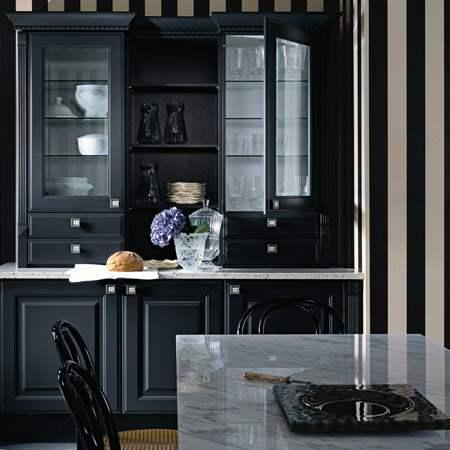 Black Kitchen Cabinets In Manhattan