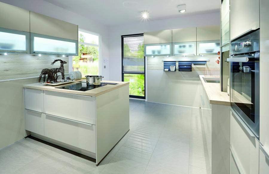 Contemporary Kitchens in NYC -> Kuchnia Retro Jasna