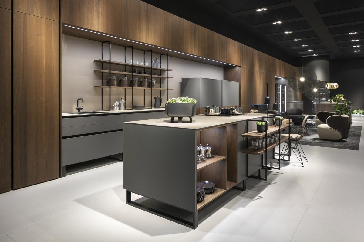 Modern Kitchen Lines Of 8