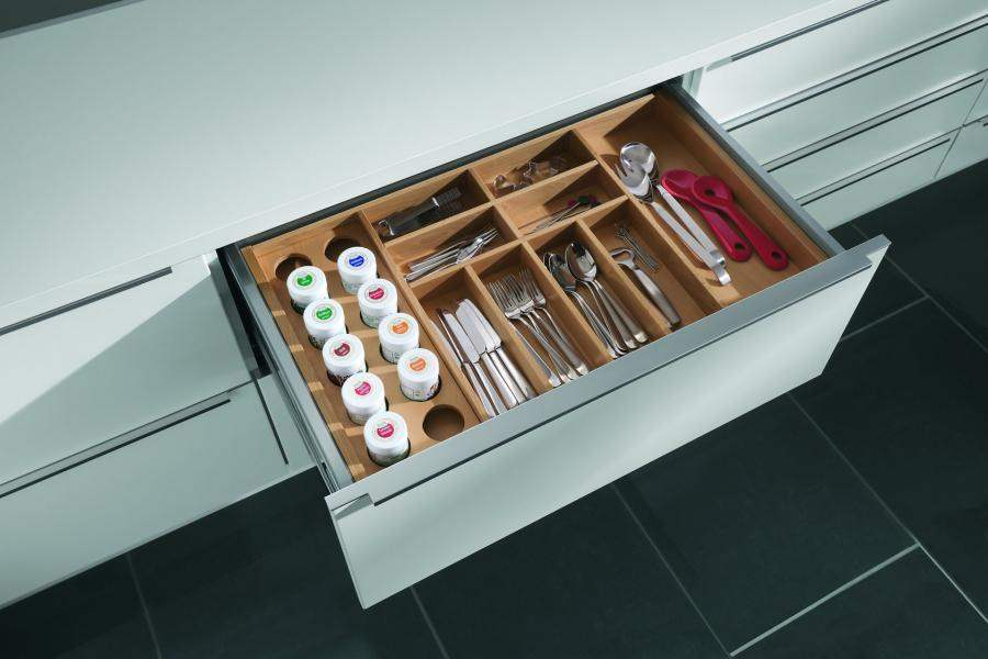 Modern kitchen cabinets accessories nyc for Kitchen cabinet accessories