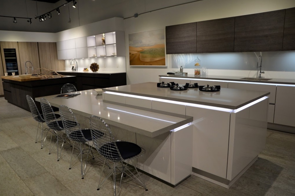 Modern Kitchens Showroom Miami
