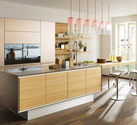 Contemporary Kitchens Showroom Miami