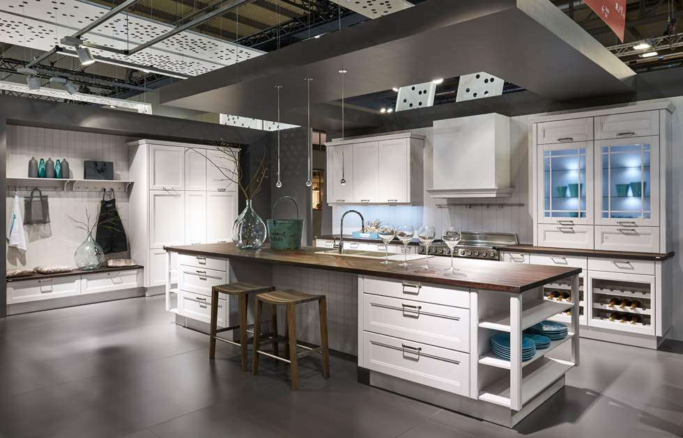 Delightful German Kitchen Center
