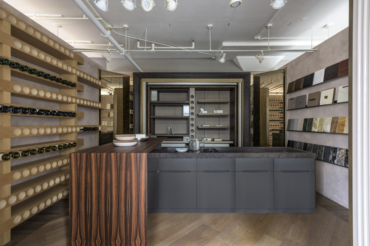 Modern Kitchens Showroom New York