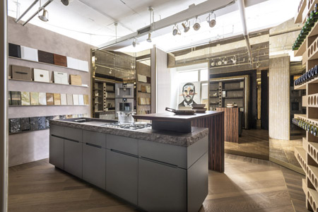 Matteo Gennari Kitchen Showroom New York
